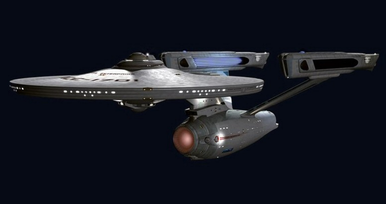 The USS Enterprise (Refit) from Star Trek: The Motion